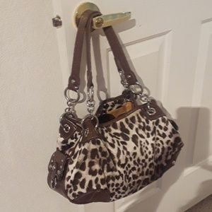 Kathy animal print handbag